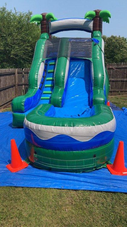 Tropical 12ft slide